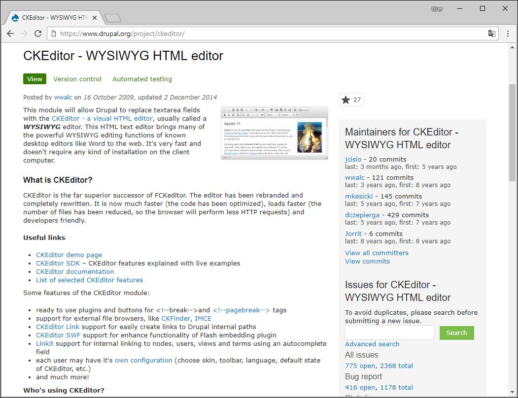 JS+ Bootstrap Editor Installing CKEditor to Drupal 7