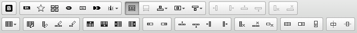 Black and white icons for Bootstrap tools