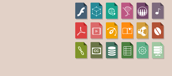 File type icons pack