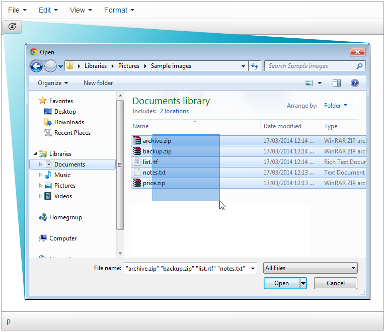 TinyMCE Easy File Uploader overview screenshot