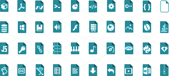 File Types Icons small