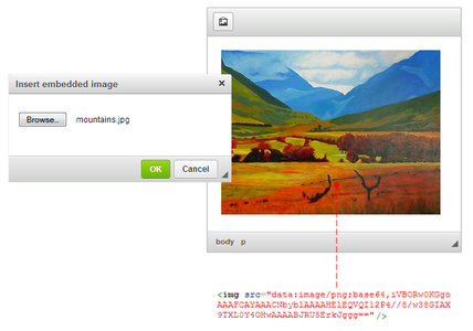 CKEditor Image Embed overview screenshot