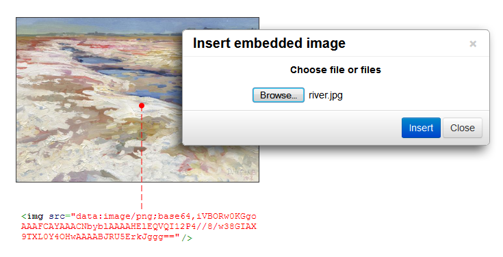 TinyMCE Image Embed overview screenshot