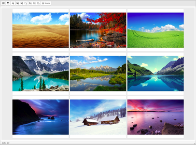 CKEditor Image Gallery overview screenshot